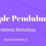 ICSE, CBSE class 9 physics problems from Simple Pendulum chapter with solution