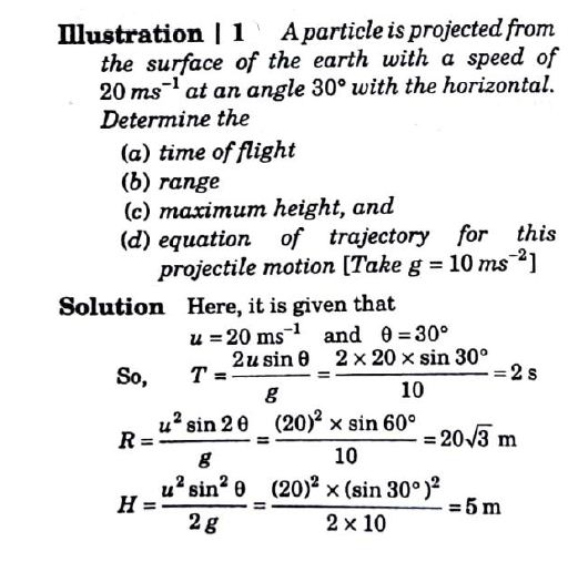 Projectile Motion Numerical Problems Word Problem Worksheet Class 11