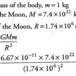 Numerical problems on Gravitation & Gravitational force for IGCSE, ICSE, CBSE