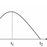 Draw the Displacement-time graph of a ball thrown vertically upwards