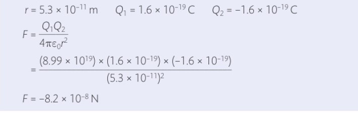 Sample Numerical problem solved using Coulomb's Law